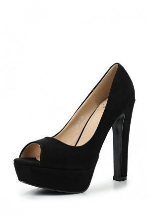 Туфли WS Shoes. Цвет: черный