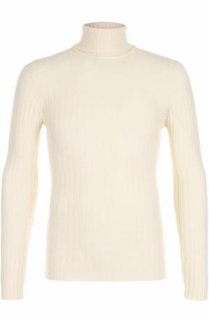 Шерстяной свитер фактурной вязки Daniele Fiesoli. Цвет: кремовый