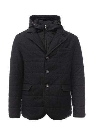 Куртка утепленная Eden Park. Цвет: серый
