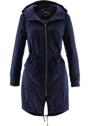 Куртка на легкой подкладке (темно-синий) bonprix. Цвет: темно-синий