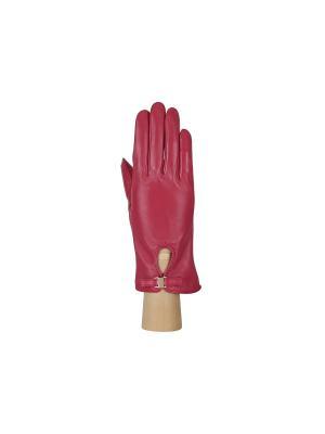 Перчатки Fabretti. Цвет: малиновый