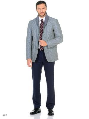 Куртка BAZIONI. Цвет: голубой