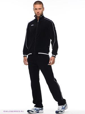 Спортивный костюм Forward. Цвет: черный