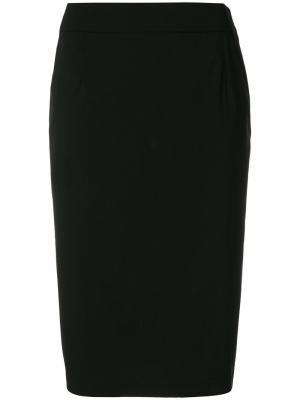 Юбка Prada. Цвет: чёрный