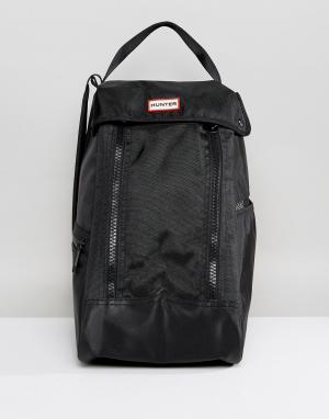 Hunter Черная сумка для сапог Original. Цвет: черный