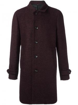Классическое пальто Hevo. Цвет: красный