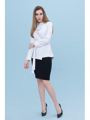 Блузка DEMURYA. Цвет: белый, синий