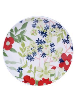 Набор тарелок десертных САНДЕЙ 21 см 6 шт Biona. Цвет: белый
