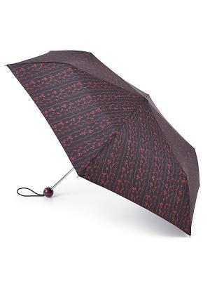 Зонт женский механика Fulton. Цвет: красный