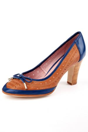 Туфли Carlabei. Цвет: коричневый