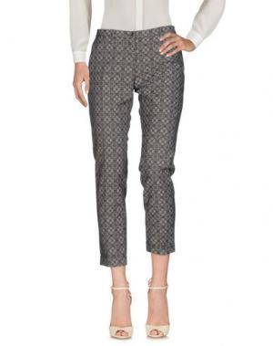 Повседневные брюки 19.70 NINETEEN SEVENTY. Цвет: свинцово-серый