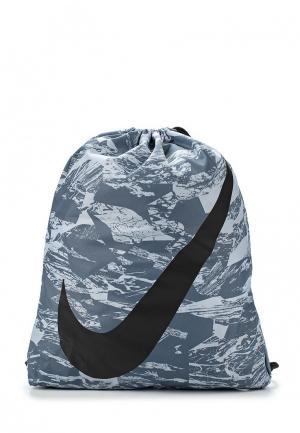 Мешок Nike. Цвет: серый