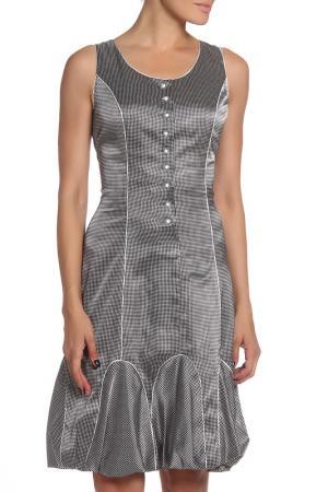 Платье MODART. Цвет: серебряный