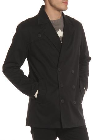 Пальто SOULSTAR. Цвет: black