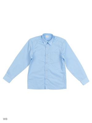 Сорочка школьная Аэлита. Цвет: светло-голубой