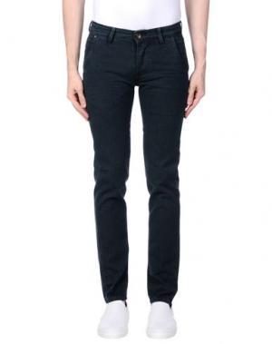 Повседневные брюки 0/ZERO CONSTRUCTION. Цвет: темно-зеленый