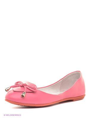 Балетки Dino Ricci. Цвет: розовый
