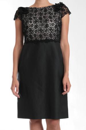 Платье Valentino. Цвет: черный