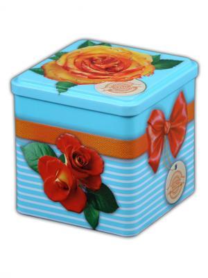 Чай Hilltop Цитрусовая фантазия 100г., кубик Цветущие розы. Цвет: черный
