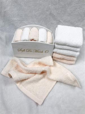 Набор салфеток в декоративной упаковке Sofi de Marko. Цвет: персиковый, белый