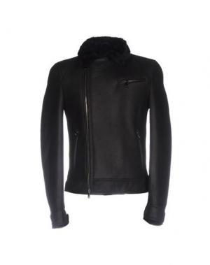 Куртка OLIVIERI. Цвет: черный