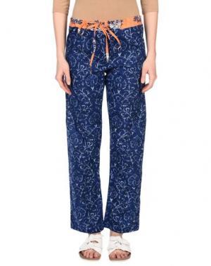 Повседневные брюки OPALINE. Цвет: темно-синий
