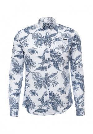 Рубашка Fresh Brand. Цвет: голубой