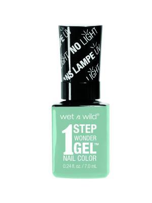 Гель-лак для ногтей 1 Step Wonder Gel Е7311 pretty peas Wet n Wild. Цвет: голубой