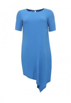 Платье Bestia Donna. Цвет: синий