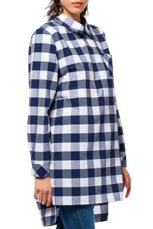 Рубашка BeWear. Цвет: navy blue