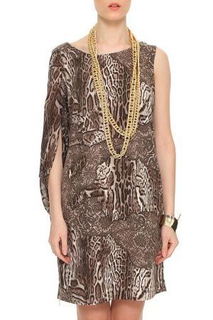 Платье Ludomara fashion. Цвет: коричневый