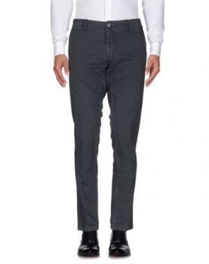 Повседневные брюки DIMATTIA. Цвет: свинцово-серый