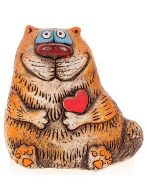 Фигура Михалыч влюбленный Aztek. Цвет: светло-коричневый
