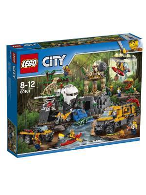 City Jungle Explorer База исследователей джунглей 60161 LEGO. Цвет: синий