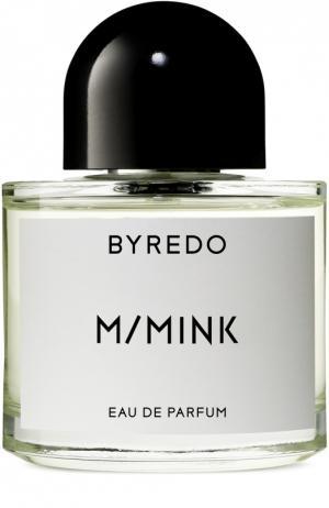 Парфюмерная вода M/Mink Byredo. Цвет: бесцветный
