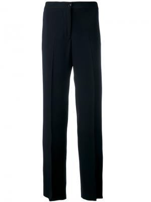 Широкие брюки Alberto Biani. Цвет: синий