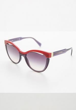 Очки солнцезащитные Miu. Цвет: бордовый