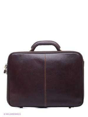 Портфель Tony Perotti. Цвет: коричневый