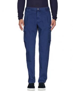 Джинсовые брюки VINTAGE 55. Цвет: темно-синий