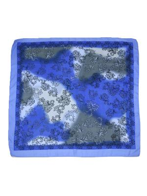 Платок Magrom. Цвет: серый, голубой