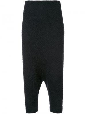 Зауженные брюки Trapez  Forme Dexpression D'expression. Цвет: чёрный