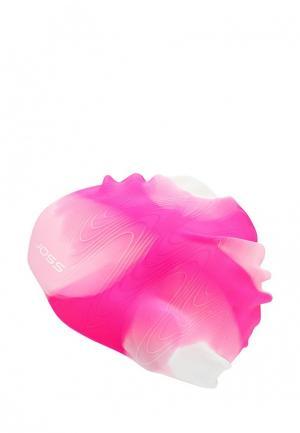 Шапочка для плавания Joss. Цвет: розовый