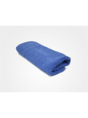 Полотенце махровое PROFFI HOME Модерн, 50х100см,синий. Цвет: синий