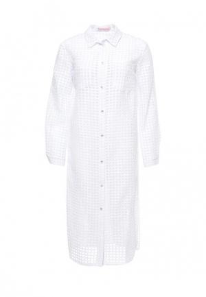 Платье Olga Skazkina. Цвет: белый