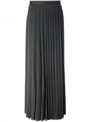 Длинная юбка Saturday A.F.Vandevorst. Цвет: серый