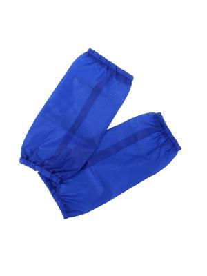 Нарукавники для труда Bizon. Цвет: синий
