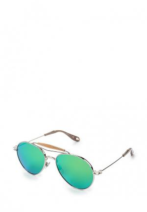Очки солнцезащитные Givenchy. Цвет: серебряный