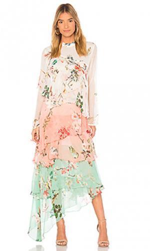 Макси платье almora HEMANT AND NANDITA. Цвет: розовый
