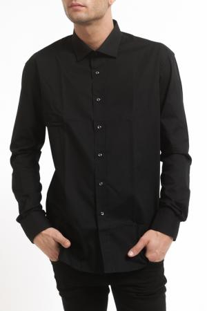 Рубашка Pierre Balmain. Цвет: черный