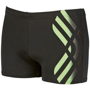 Шорты пляжные MaxLife® ARENA. Цвет: черный/ зеленый